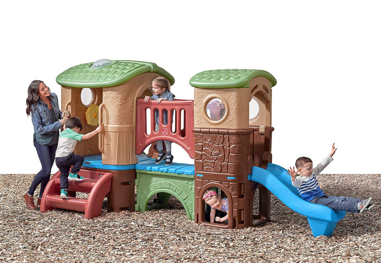 The Step2 Clubhouse Climber is for children from 2 to 6 years-old.