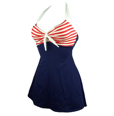 cocoship vintage sailor pin up maternity swimsuit design
