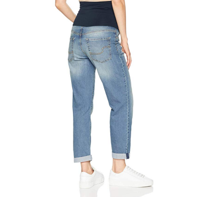 signature levi strauss & co. boyfriend maternity jeans back