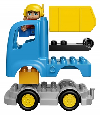 dump truck and excavator lego duplo how to use