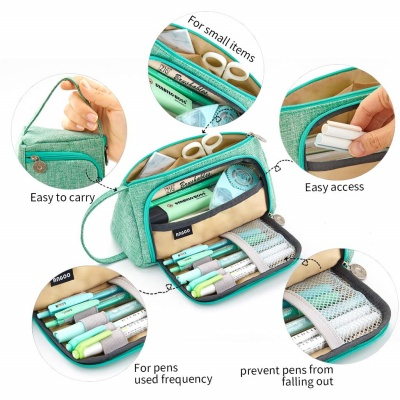 easthill big capacity kids pencil case features