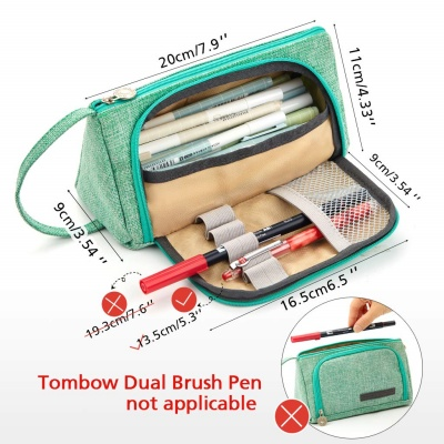 easthill big capacity kids pencil case size