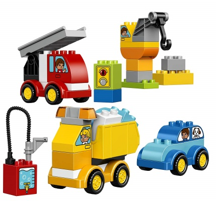 my first cars and trucks lego duplo pieces