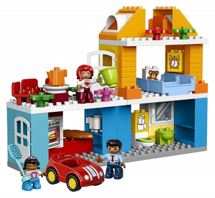 my town family house lego duplo pieces