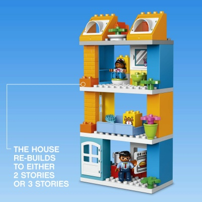 my town family house lego duplo