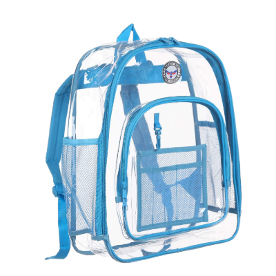 BAGAIL Clear Backpack empty