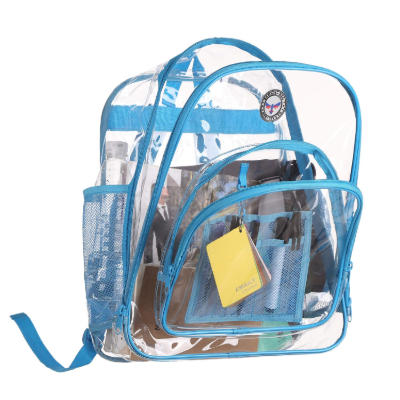 BAGAIL Clear Backpack compartments