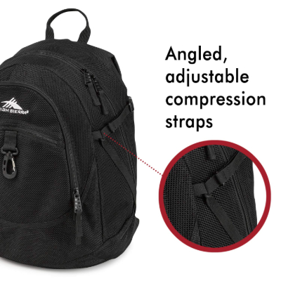 High Sierra Airhead adjustable straps