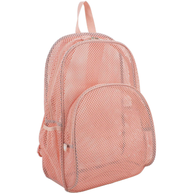 EastSport Mesh Backpack pink