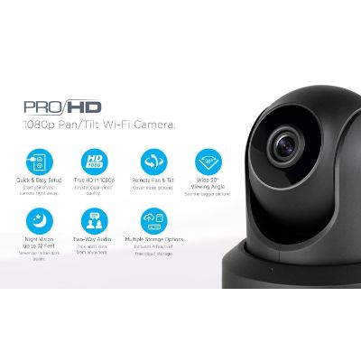 amcrest proHD 1080P home security camera features