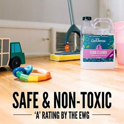 aunt fannie's floor natural cleaning product non toxic