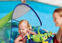 Check out our list of the ten best baby floats.