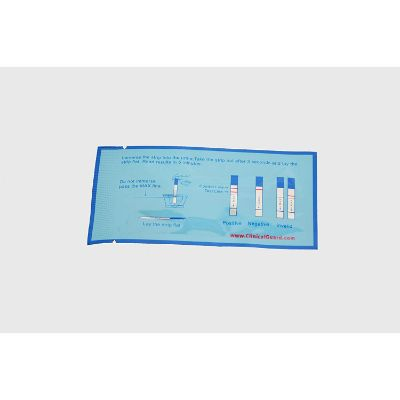 Clinical Guard 50 Individuals Strips Instructions