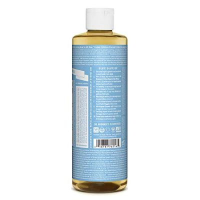 dr. bonner's natural cleaning product back