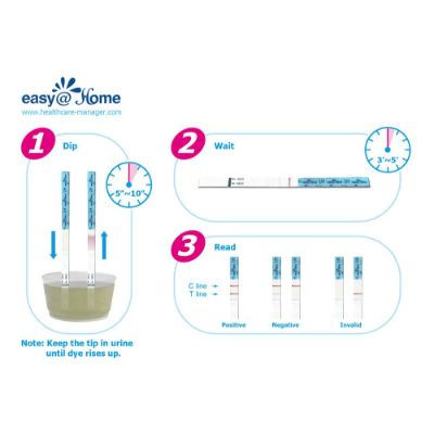 Easy@Home 50 LH Pack Test Levels Hormones