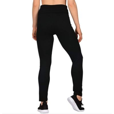 HDE Maternity Leggings Back