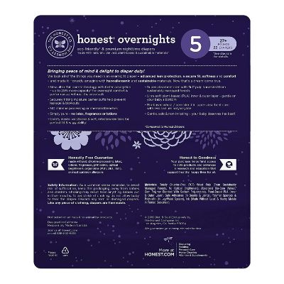 honest sleepy sleep overnight diapers features