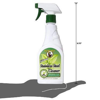 howard for stainless steel natural cleaning product size