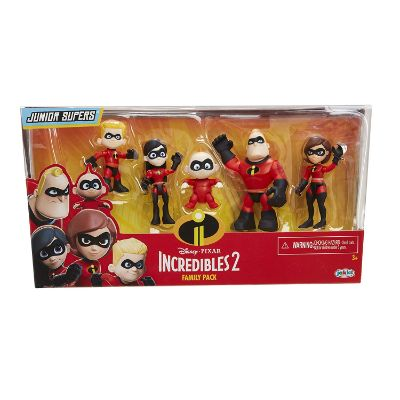 incredibles 5 pack junior supers package