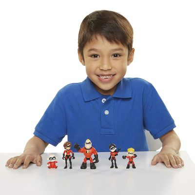 incredibles 5 pack junior supers