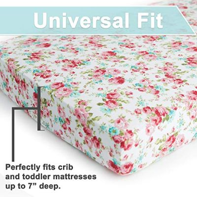 kids n' such premium crib sheets universal fit
