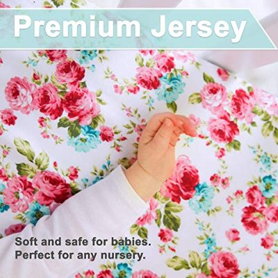 kids n' such premium crib sheets jersey
