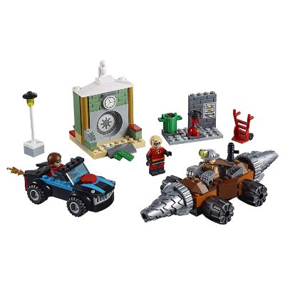LEGO incredibles underminer bank heist pieces
