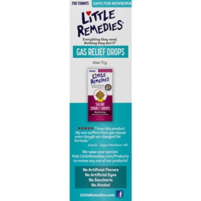 little remedies berry baby gas drops package
