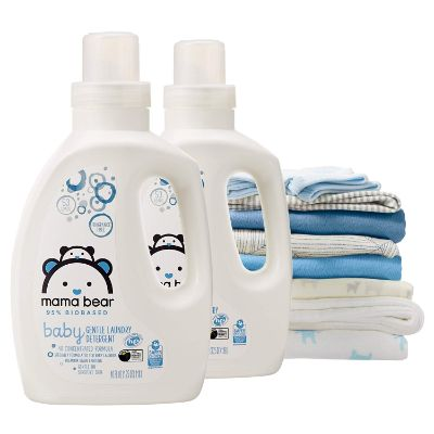 mama bear 95% biobased baby laundry detergent clothes