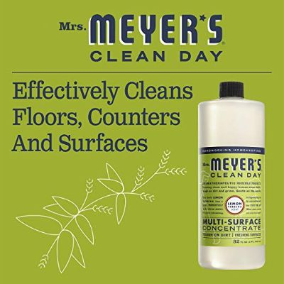 mrs. meyers natural cleaning product effective