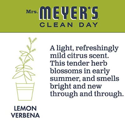 mrs. meyers natural cleaning product citrus scent