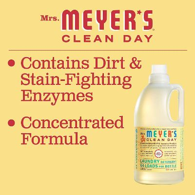 mrs. meyer's blossom baby laundry detergent concentrated formula