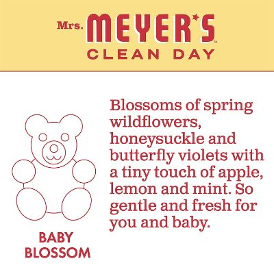 mrs. meyer's blossom baby laundry detergent scent