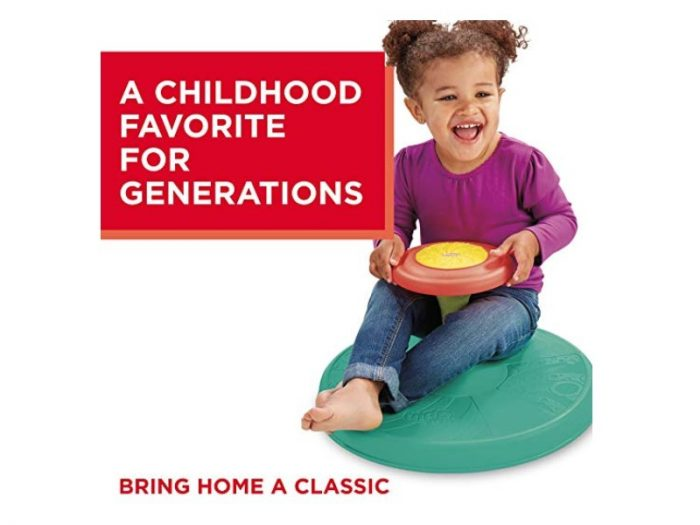 The Playskool Sit 'n Spin is a classic toddler toy.