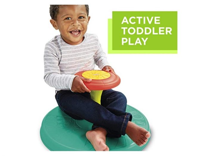 The Playskool Sit 'n Spin enables active toddler play.