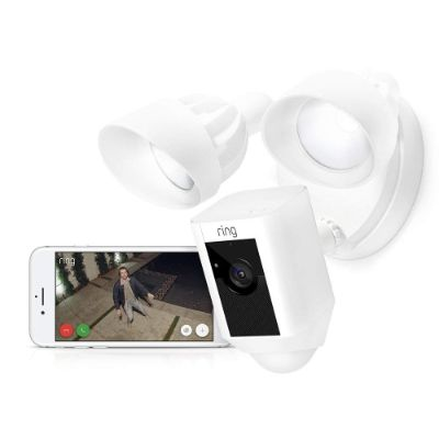 ring floodlight motion-activated home security camera app