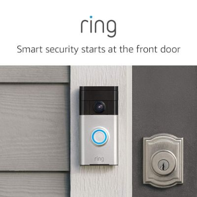 ring video doorbell home security camera front door