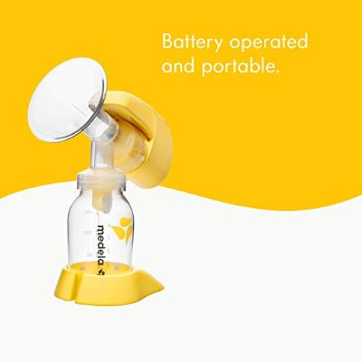 medela single electric mini breast pump battery