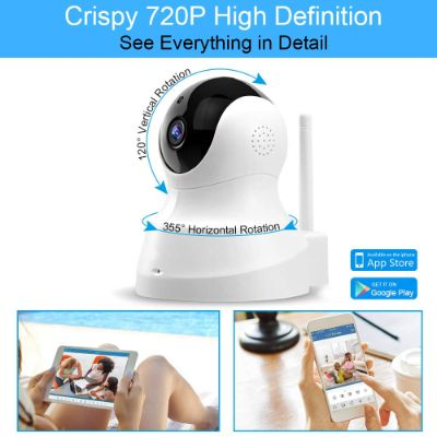 tenvis HD IP wireless home security camera 720P