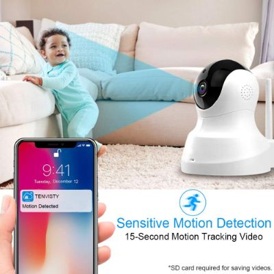 tenvis HD IP wireless home security camera motion detector