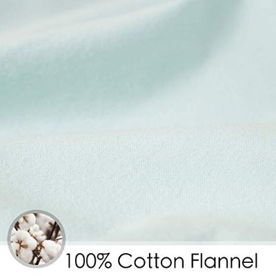 tillyou cotton flannel crib sheets