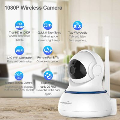 wansview wireless 1080P home security camera features