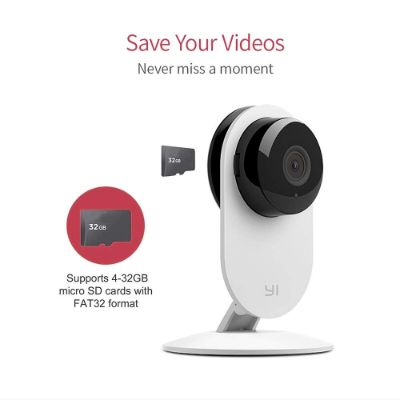 YI 4pc 1080p Wi-Fi home security camera