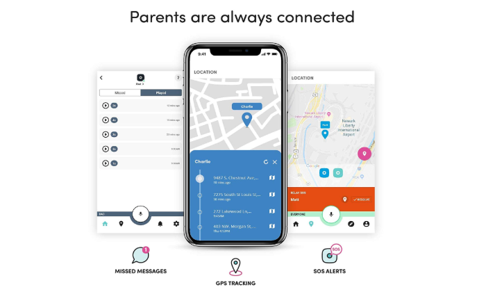 The Relay keeps parents and kids connected at all times.