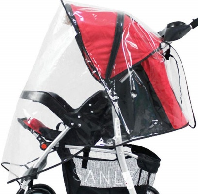 simplicity universal stroller cover transparent