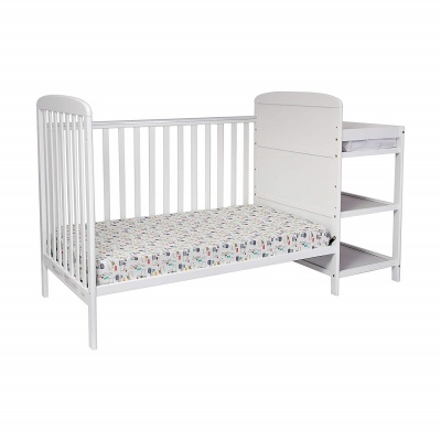 suite bebe ramsey 3-in-1 crib with changing table convertible
