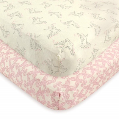 touched by nature crib sheets animals