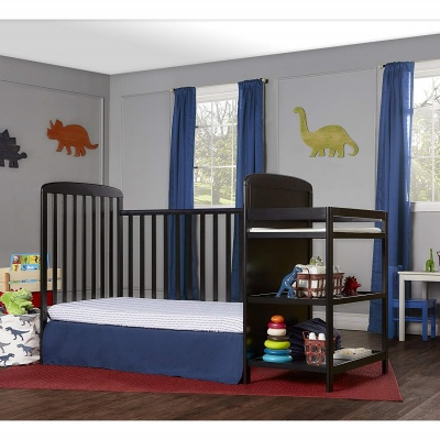 dream on me anna 4-in-1 crib with changing table