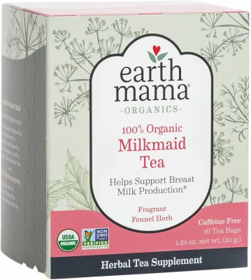 earth mama lactation tea pack