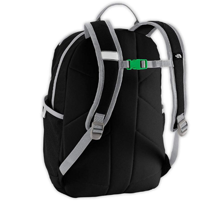 the north face recon kids hiking backpack back